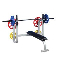 Rack Bench Press Pl 16 Bench Press W Weight Racks Pro Maxima