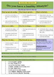english worksheets quiz worksheets page 62