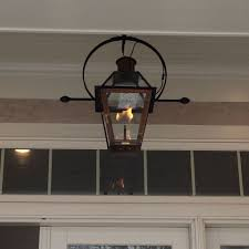 French Quarter Gas Lanterns by Furniture Chic French Quarter On Hanging Chain By Bevolo For Home