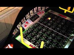 electronic table football game fisher price espn fast action football electronic game table youtube