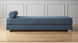 lubi blue daybed sleeper cb2