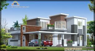 New Contemporary Home Designs In Kerala New Modern Home Plans And Elevations On Modern Hom 1600x1067