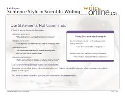 write online lab report writing guide critical features