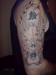 japanese dragon design black grey or colour big tattoo planet