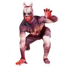 werewolf costume werewolf cosplay garou zentai suit male