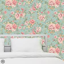 Peel And Stick Wallpaper by Decorating Beautiful Flowers Peel And Stick Wallpaper With White