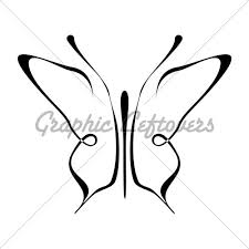 butterfly simple pencil and in color butterfly simple