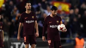 Lionel Messi Leg Copa Lionel Messi Misses Penalty As Barcelona Beaten In