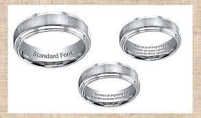 engraved wedding bands