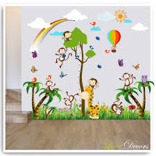 unique wall stickers decor c3 a2 c2 ab home decoration improvement beautiful butterfly wall decor sticker girl bedroom giant animal owl bird flower tree monkey height chart