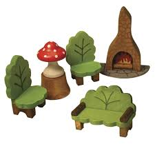 Livingroom Sets Forest Fairy Wooden Living Room Set Everything Fairies