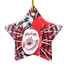 scary clown ornaments keepsake ornaments zazzle
