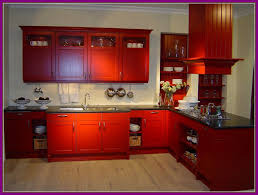 pictures of red kitchen cabinets appealing red distressed kitchen cabinets home design ideas image