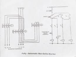 star delta starter control diagram working principle electrical