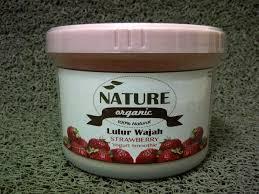 Yogurt Untuk Masker Wajah jual lulur wajah nature organic strawberry yoghurt alula