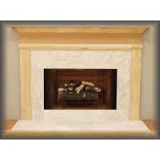budget mdf fireplace mantel surround brick anew