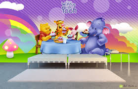 children s wallpaper wall murals disney winnie the pooh and children s wallpaper wall murals disney winnie the pooh and friends drink tea