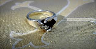 3d printed engagement ring 3d printed wedding ring holds a of the moon at burning