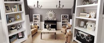 How To Arrange A Living Room by Studio 7 Interior Design How To Stage A Bookcase
