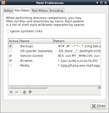 pattern rule directory how to diff and merge files or directories on linux xmodulo