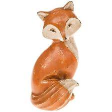 wooden fox collectable ornaments figurines ebay