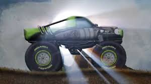video de monster truck stickman downhill monster truck official trailer youtube