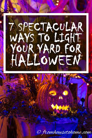 how to make halloween yard decorations 382 best holiday decor halloween images on pinterest halloween