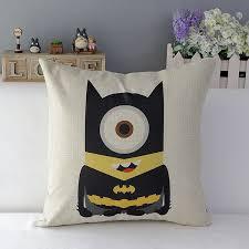 18″ Square Lego Super Hero Series Cotton Linen Cushion Cover Ikea