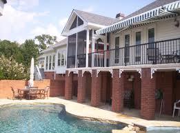 deck pergola and porch designs for pools st louis decks