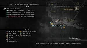Final Fantasy 1 World Map by Lightning Returns Final Fantasy Xiii 1 3 Find The Code