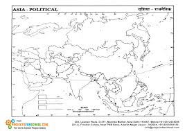 Asia Political Map Kids Science Projects Asia Political Map Free Download