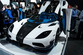 koenigsegg agera rs white koenigsegg reveals insane 1 360 horsepower agera rs1 in new york
