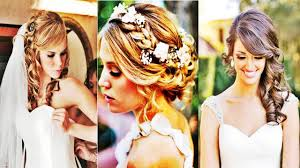 bride hairstyles medium length hair wavy wedding hairstyles for medium length hair 2017 youtube