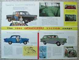 vauxhall victor estate vauxhall victor car sales brochure for 1961 v1264 7 60 super de