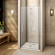 bifold shower door frameless bifold pivot hinge sliding room shower door enclosure glass