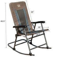 Old Man Rocking Chair Amazon Com Timber Ridge Smooth Glide Lightweight Padded Folding