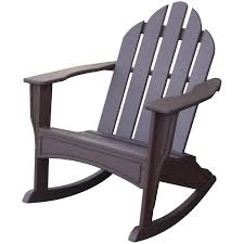 Baby Rocking Chair Walmart Deck Plastic Rocking Lowes Lawn Chairs In Brown For Outdoor