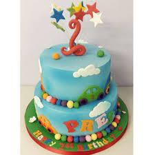 Two Tiered Children U0027s Cake Puttycakes