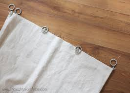How To Sew Curtains With Rings Curtains For Clip Rings With Curtain Clip Rings Making Kitchen