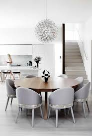 Upholstered Chairs Dining Room Black And White Upholstered Dining Chair Dining Room Contemporary