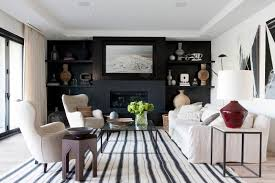 Black Room Decor Living Room Decor Ideas For Homes With Personality