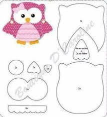 felt owl crafts i should make one of these for every single one