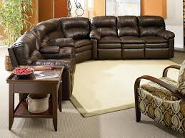 Lane Furniture Loveseat Touchdown Reclining Leather Sectional By Lane Furniture