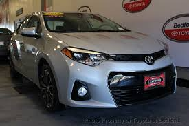toyota corolla 2014 photos 2014 used toyota corolla 4dr sedan cvt s plus at toyota of bedford
