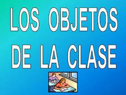 classroom objects vocabulary power point in spanish by spark