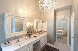 shabby chic small bathroom ideas small bathroom wallpaper ideas traciandpaul com