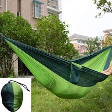 portable parachute fabric camping hammock outereq gadget flow and