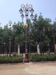 decorative street light poles cast iron decorative l pole middle eastern style decorative