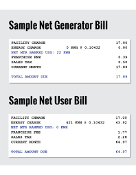 Calculate Electricity Bill Understanding Net Energy United Power Cooperative