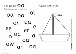 Oa Worksheets Words With Oa Phonics Activities And Printable Teaching